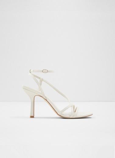 Aldo Rendalith - Beyaz Kadin Topuklu Sandalet Beyaz